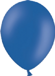 "10"" Pastel/Standard Royal Blue Latex Balloon"
